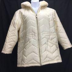 978c60395df Color  Winter White. Care  Machine Washable. Size  Large.