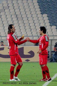 Ali Karimi & Mehdi Mahdavikia