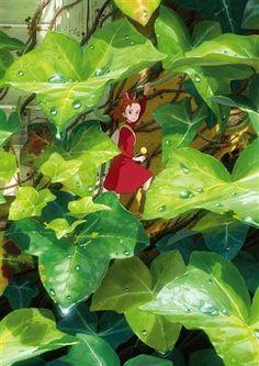 Karigurashi no Arietty - just watched it. Wonderful