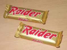 "awwww, I remember it from before it was renamed ""Twix"" - always thought it should've stayed Raider, so much cooler :)"