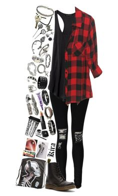 """""""~~but you don't know what it's like to wake up in the middle of the night, scaring the thought of kissing razors~~"""" by we-are-the-wild-ones ❤ liked on Polyvore featuring Boohoo, Dr. Martens, Bling Jewelry, BERRICLE, Rachel Entwistle, M. Cohen, NOVICA, Givenchy, Dsquared2 and Alexander McQueen"""