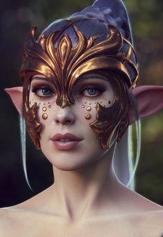elf-personnage-3D