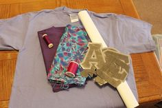 how to make your own greek lettered shirt (worth a try!!)