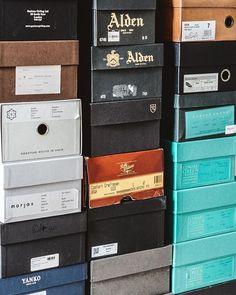 #moving. Well I guess its technically just packing right now. . . . #edwardgreen #aldenarmy #gazianogirling #morjas #lofandtung #yanko #paulevans #berwick1707 #carlossantos #taft #allenedmonds #myrqvist #herrstil #dailylast #goodyearwelt #rakish #rakishgent #madetobeworn #styleforum #mnswr  #shineyourshoes #shoegazing #ptoman #shoegazingblog #shoesoftheday #shoestagram #shoecare Berwick Shoes, Carlos Santos Shoes, Edward Green, Paul Evans, Allen Edmonds, Shoe Company, Goodyear Welt, Green Shoes, Army
