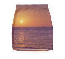 Sunset over Port Phillip Bay - Melbourne, Victoria Pencil Skirt