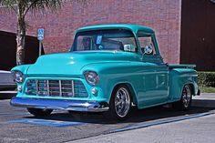 Vintage Turquoise 1956 Chevrolet Apache