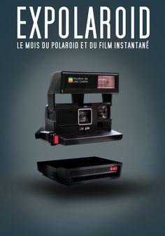 Affiche officielle du Mois du Polaroid - EXPOLAROID 2016 - Avril 2016 - unpeuflou. #visuel #affiche #expolaroid #polaroid #festival