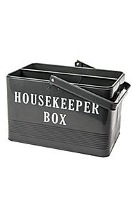GALVANIZED HOUSE KEEPERS BOX