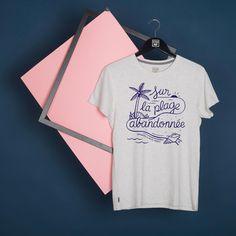 """""""Sur la plage"""", T-Shirt Stepart par Steven Burke."""