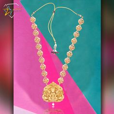 This Temple Jewellery pendant by Zurie, will look stunning when paired with your traditional attire this wedding season. ‪#‎bright‬ ‪#‎bold‬ ‪#‎stunning‬ ‪#‎flawless‬ ‪#‎gold‬ ‪#‎templejewellery‬ ‪#‎pendant‬ ‪#‎zurie‬