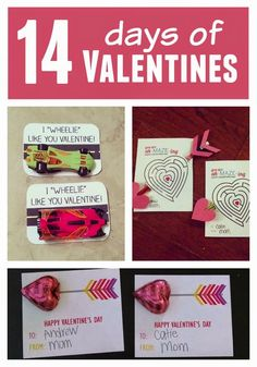 14 Days of Valentines for Kids from Toddler Approved