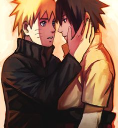 Cry if you want, I'm here for you <3 Naruto x Sasuke :)