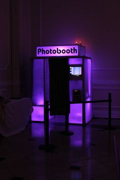 Purple Photo Booth  #DreamPromNight @PacificPlex