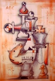 Chess Art - I love Chess Art - don't know how to play (wish I did) but nonetheless enjoy the Art of it. ღpwro