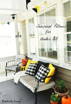 seasonal pillows for under 5, crafts, home decor, how to, seasonal holiday decor, reupholster