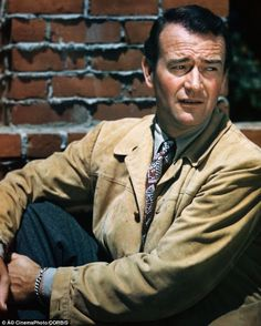 """Kingpin: Born Marion Robert Morrison, the screen legend know as John Wayne, preferred to be called """"Duke."""" (Late --- John Wayne --- Image by © CinemaPhoto/CORBIS) Westerns, Maureen O'hara, The Searchers, Actor John, True Grit, Actrices Hollywood, Golden Age Of Hollywood, Hollywood Stars, Hollywood Men"""