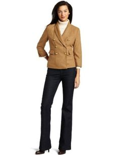 Kut From The Kloth Women's Spirit Peacoat Jacket, Camel, X-Large KUT from the Kloth. $24.02