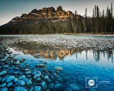 Castle Mountain by Mark Brodkin on 500px