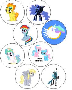 My Little Pony Button Badges!