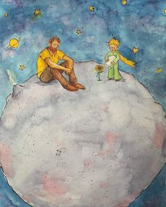 Vincent van Gogh and The Little Prince Art Van, Van Gogh Art, Vincent Van Gogh, Van Gogh Tapete, Van Gogh Wallpaper, Van Gogh Pinturas, Van Gogh Quotes, Painted Vans, Van Gogh Paintings