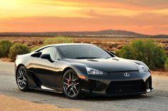 The Beautiful Lexus LFA