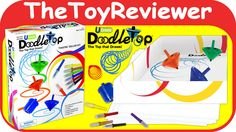 Check out the U-Create Doodletop Twister Deluxe Kit here: https://www.youtube.com/watch?v=zzxEbka4h64