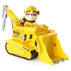 Paw Patrol Rubbles Diggin Bulldozer Figure and Vehicle -- Continuously the item at the picture web link. (This is an affiliate link). Rubble Paw Patrol, Paw Patrol Toys, Paw Patrol Cake, Bulldozer Cake, Nerf Gun Cake, Pig Birthday Cakes, 3rd Birthday, Save The Day, Cool Toys