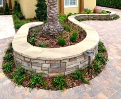 retaining wall decorative stone | Natural and cultured stone retaining wall