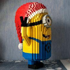 Legoskulptur eines Minions und viele andere Ideen