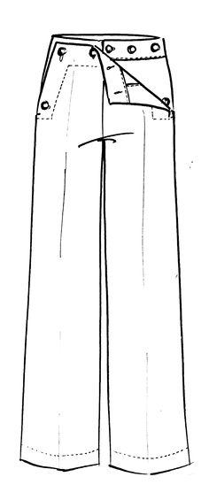 [tuto] les différents types de pantalons  