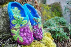 Обувь ручной работы. Ярмарка Мастеров - ручная работа Тапочки «Изабелла». Handmade.