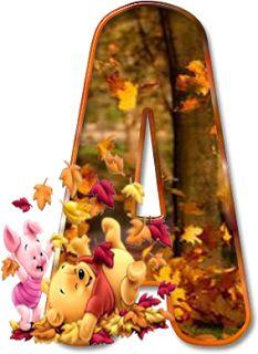 Winnie fall letters A