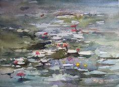 Lotus Pool by Jing Chen
