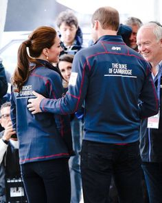 The Duke and Duchess of Cambridge arrive at the Portsmouth Historical Dockyard | July 26, 2015
