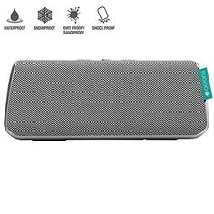 Fugoo Style Portable Waterproof Speaker with Bluetooth  Silver Certified Refurbished ** ON SALE Check it Out
