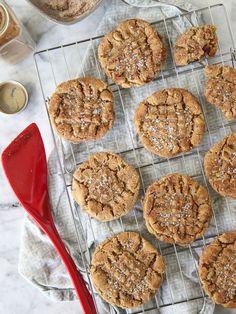 Flourless Peanut Butter Cookies @Heidi Haugen Haugen | FoodieCrush