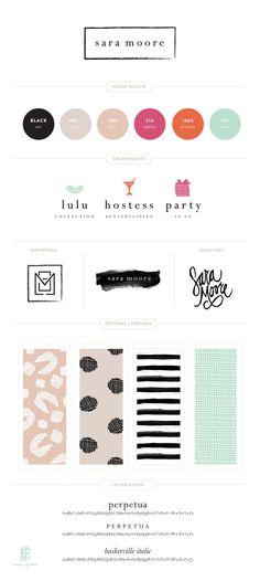 Branding for Sara Moore || Emily McCarthy