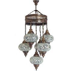5 ball turkish moroccan hanging glass mosaic chandelier lamp moroccan lantern chandelier turkish lamp hanging light mosaic glass lights ceiling aloadofball Choice Image