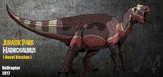 Jurassic Park novel: Hadrosaurus (new art !) by Hellraptor on DeviantArt