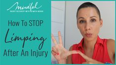 Want to stop limping? Then do these 3 things. How Do You Stop, Got Online, Enough Is Enough, Healing, Mindfulness, Advice, Positivity, Thoughts, 3 Things
