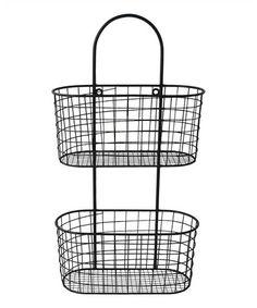 Wall Storage Basket #zulily #zulilyfinds
