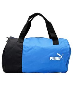 Puma Blue and Black Gym Bag with Spartiate Sunglass Gym gear Gym Gear, Online Bags, Workout, Sunglasses, Blue, Stuff To Buy, Shopping, Style, Swag