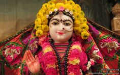 To view Radha Close Up Wallpaper of ISKCON Houston in difference sizes visit - http://harekrishnawallpapers.com/sri-radha-close-up-iskcon-houston-wallpaper-005/