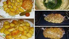 Cesnakové zemiaky pečené v rúre – sú také vynikajúce, že moja rodina už inú prílohu k mäsu nechce! Baked Potato, Potatoes, Chicken, Baking, Ethnic Recipes, Food, Minden, Meal, Patisserie