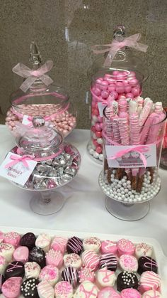 67 Trendy Ideas For Baby Shower Ides For Girls Themes Pink Chocolate Covered 67 Trendy Ideas For Bab Baby Shower Sweets, Baby Girl Shower Themes, Girl Baby Shower Decorations, Girl Themes, Baby Shower Princess, Boy Decor, Baby Shower Fun, Baby Shower Favors, Shower Party