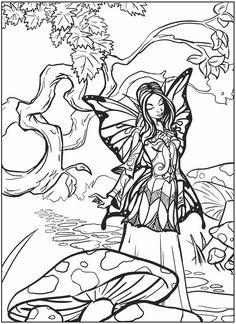 fairy color sheet @Eileen Lucas Publications