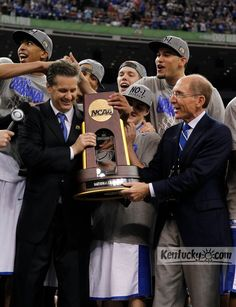 University of Kentucky 2012 NCAA CHAMPIONS!  8 is great!  Proud to be a member of the big blue nation <3