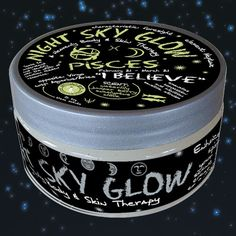 $20.00 Night Sky Glow Mineral Salt Scrub - Pisces- 8 oz. February 19 - March 20  Scents:  water lily, juniper berry, eucalyptus, and clove.|    Mountain Body Products