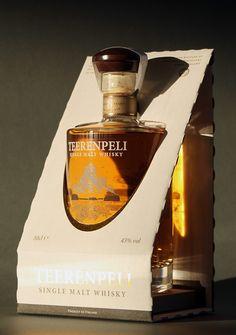 Teerenpeli Whisky Packaging on Packaging Design Served