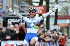 Centrumcross Surhuisterveen: 7e overwinning Marianne Vos 2-1-2015 Foto: awfoto.nl